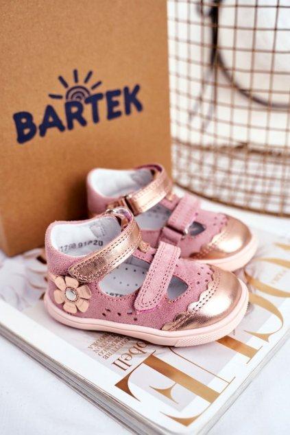 Detské sandále farba ružová kód obuvi T-81798-7/91P PINK