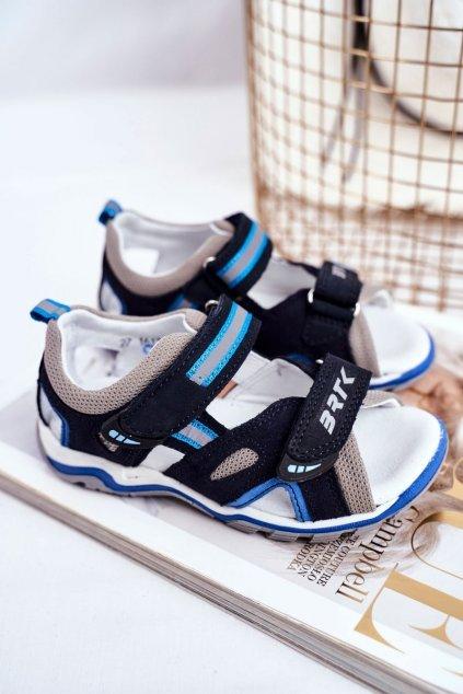 Detské sandále farba modrá kód obuvi T-16176-7/0KP NAVY