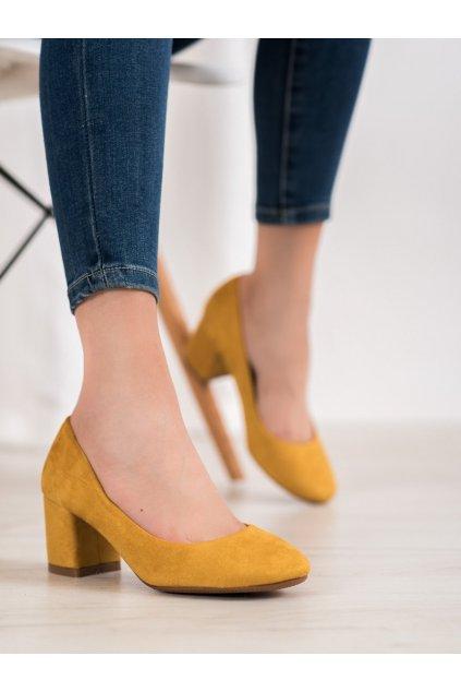 Žlté topánky Fama kod FM1089Y
