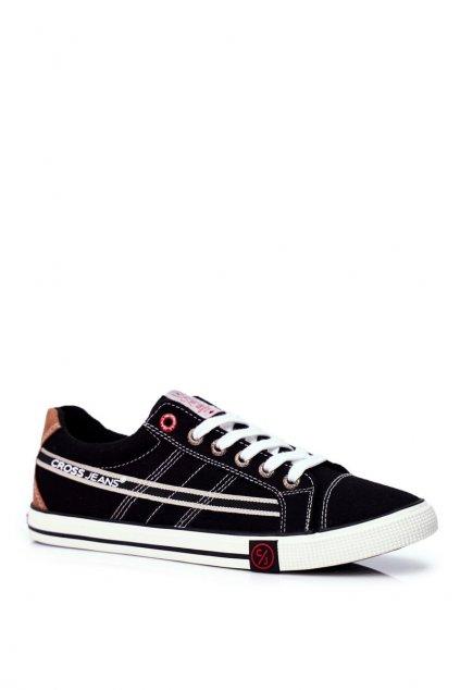 Čierna obuv kód topánok FF1R4041C BLK