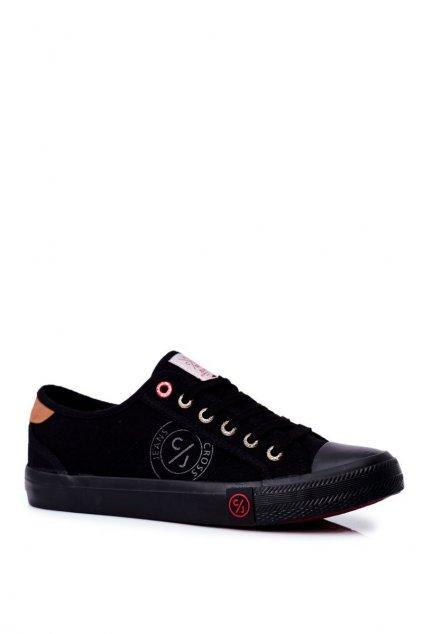 Čierna obuv kód topánok FF1R4054C BLK