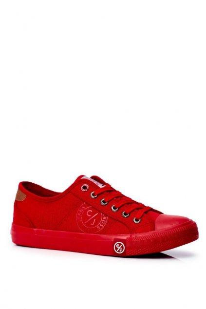 Červená obuv kód topánok FF1R4056C RED