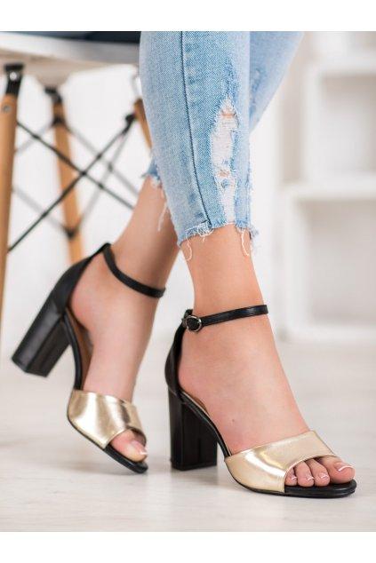 Žlté sandále Small swan kod TS21L.GO