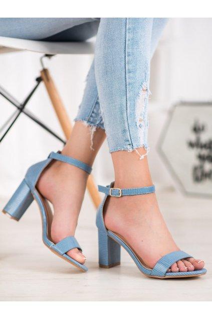 Modré sandále Small swan kod YC-150BL