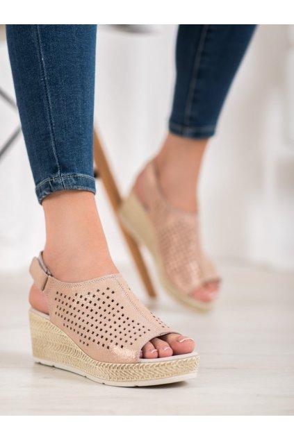 Ružové sandále Filippo kod DS1249/20GO
