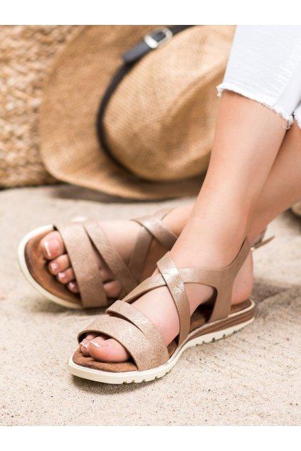 Hnedé sandále Evento kod 20SD14-2064BR