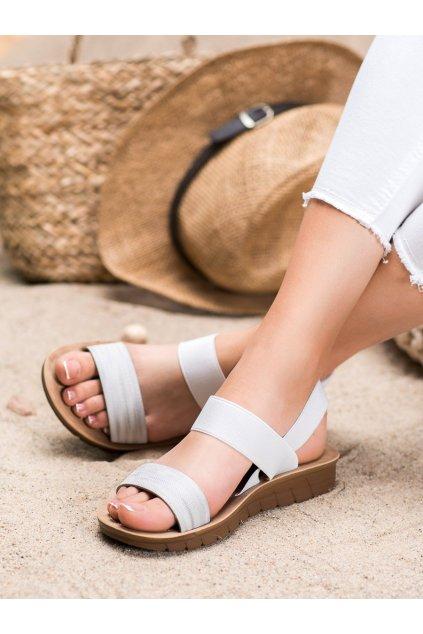 Sivé sandále Sea elves kod 6432S