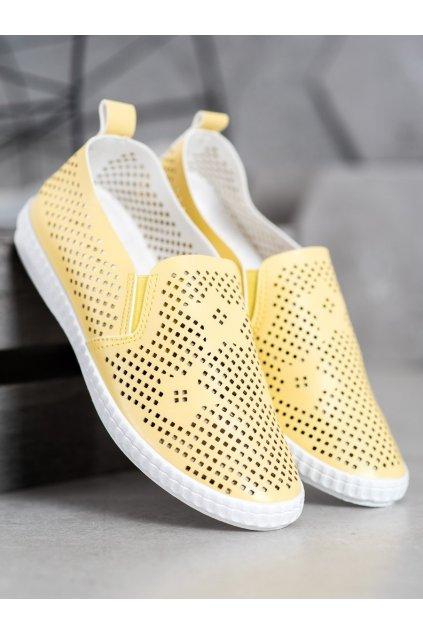 Žlté tenisky Goll kod DS8830Y