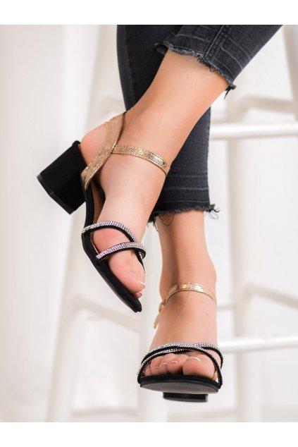 Žlté sandále Small swan kod PH8053CH