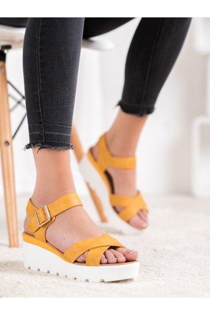 Žlté sandále Weide kod Y98Y