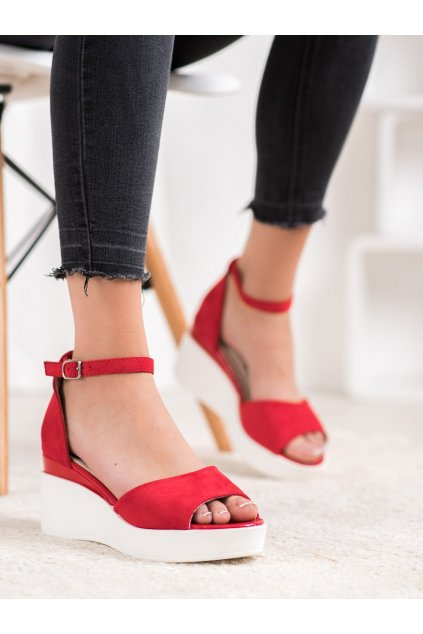Červené sandále Weide kod Y617R