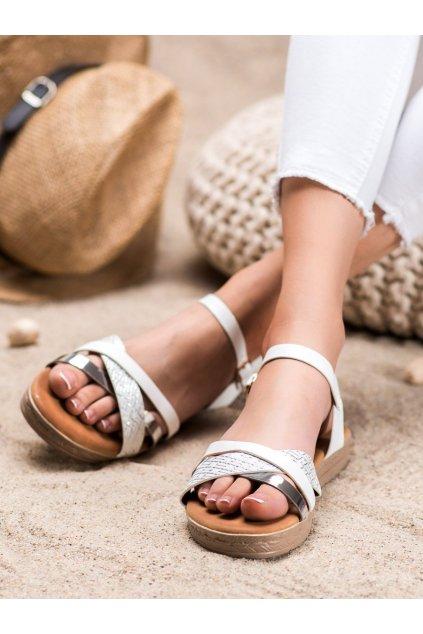 Sivé sandále Weide kod Y609S
