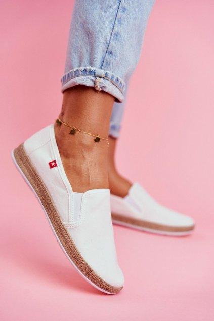 Dámske tenisky farba biela kód obuvi FF276038 WHITE