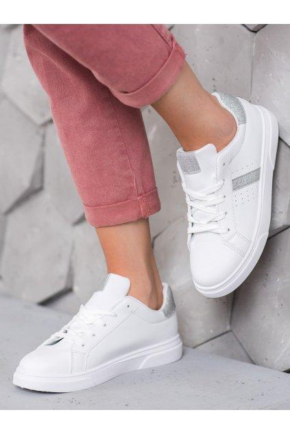 Biele tenisky Shelovet njsk C941S