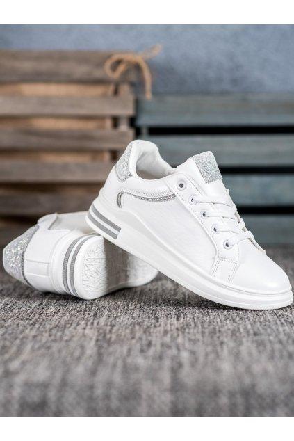 Biele tenisky Diamantique NJSK LDH901W/S