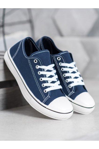 Modré tenisky Shelovet NJSK BLD-AW103N