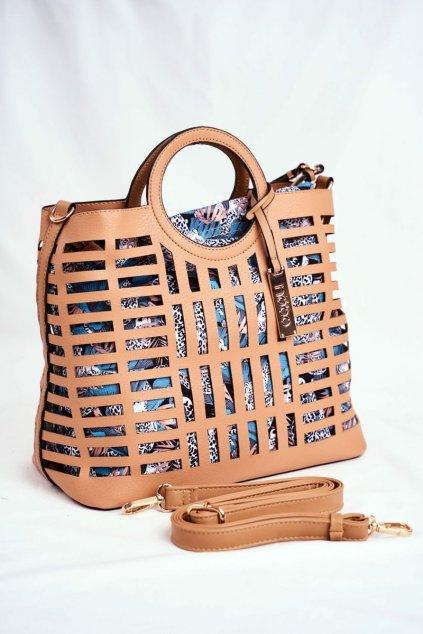 Dámska kabelka hnedá kód kabelky NBAG-I3670-C015 BEIGE