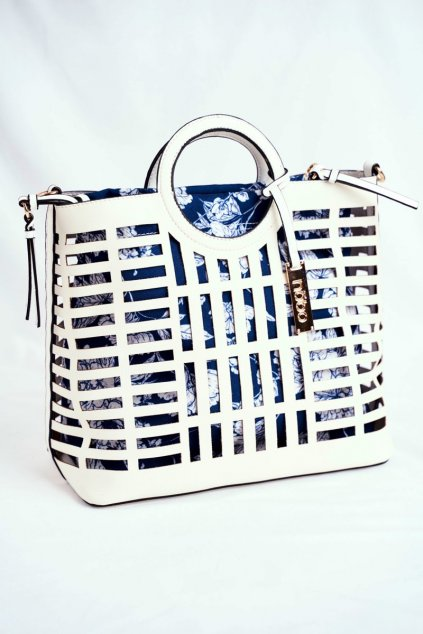 Dámska kabelka biela kód kabelky NBAG-I3670-C000 WHITE