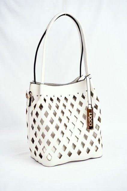 Dámska Kabelka NOBO Shopper biela NBAG-I3690-C000