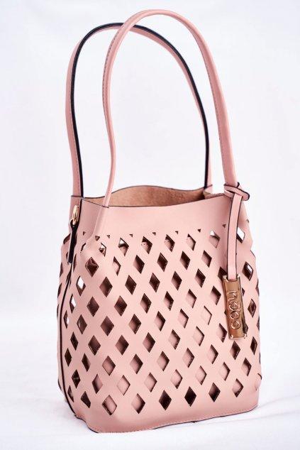 Dámska kabelka ružová kód kabelky NBAG-I3690-C004 PINK