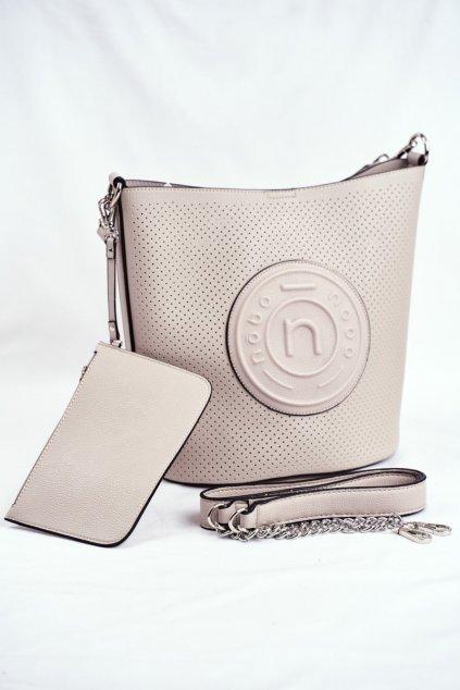 Dámska kabelka sivá kód kabelky NBAG-I4240-C019 GREY