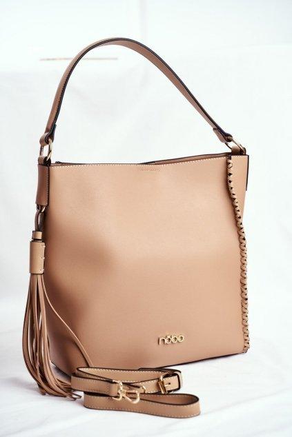Dámska kabelka hnedá kód kabelky NBAG-I0180-C015 BEIGE