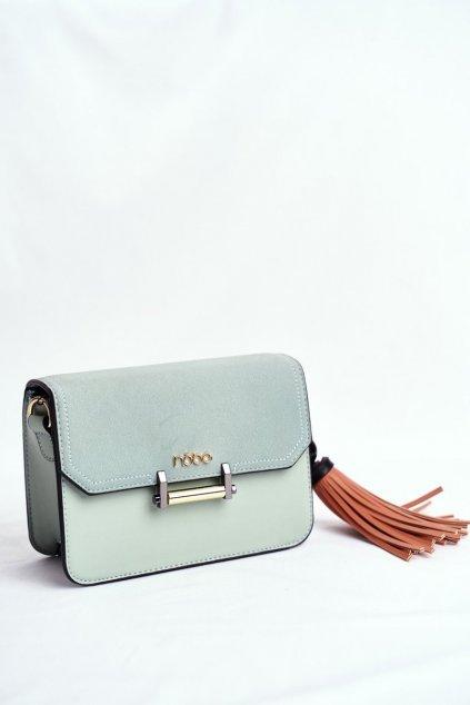 Dámska listová kabelka zelená kód kabelky NBAG-I0040-C008 GREEN