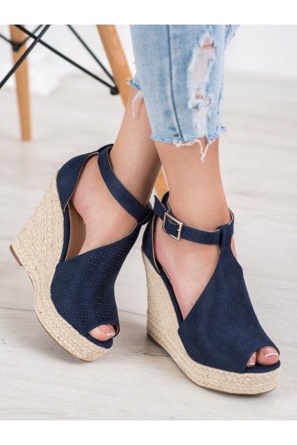 Modré sandále Shelovet NJSK NGSJ-2DK.BL