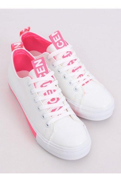 Dámske tenisky ružové NJSK A88-23