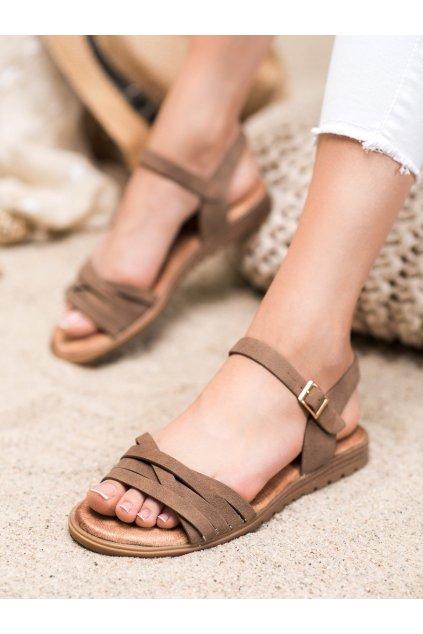 Hnedé sandále Evento kod 20SD14-2065BR