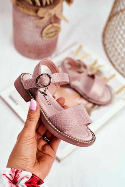 Detské sandále farba ružová kód obuvi GX174-GX175 PINK