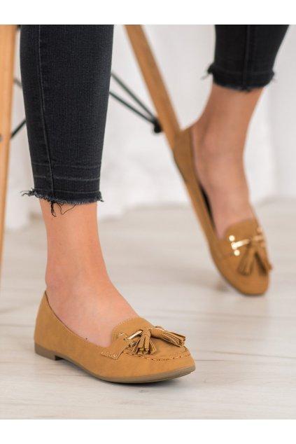 Hnedé topánky Nio nio kod 99-08A-C