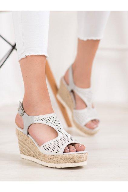 Sivé sandále Aclys kod A119-06-02PIE