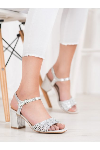 Sivé sandále Vinceza kod YQE20-17060S