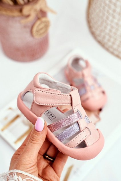 Detské sandále farba ružová kód obuvi IC42 PINK