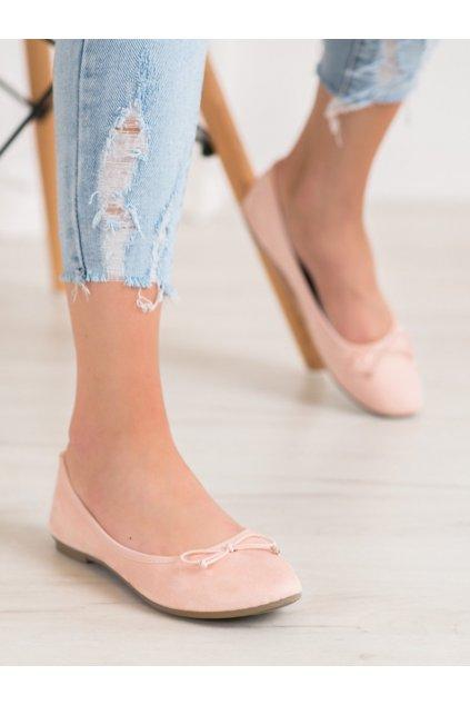 Ružové topánky Diamantique kod 98-32NU
