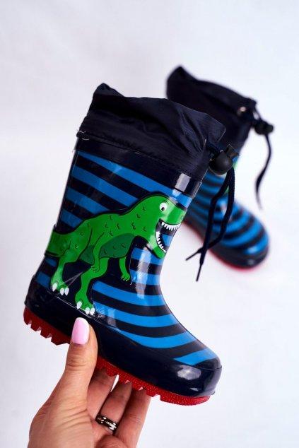 Modrá obuv kód topánok B87 NAVY