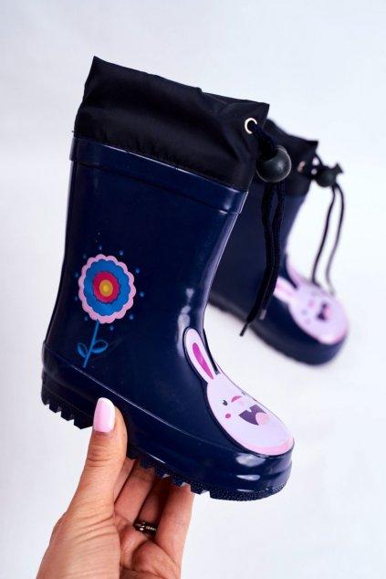 Modrá obuv kód topánok B89 NAVY