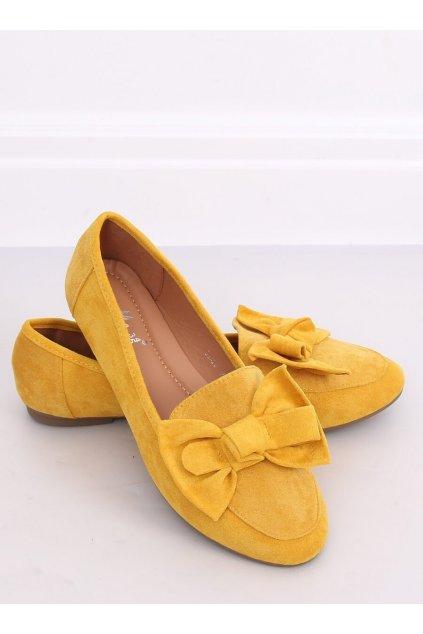 Dámske mokasíny žlté NJSK B2028