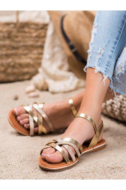 Žlté sandále Nio nio kod 99-62-GO