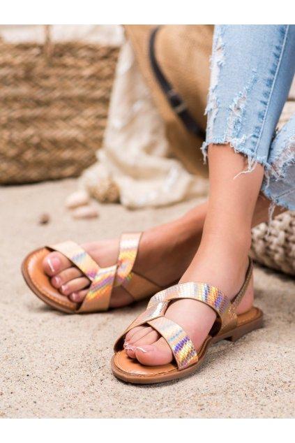 Žlté sandále Renda kod 222-31CH