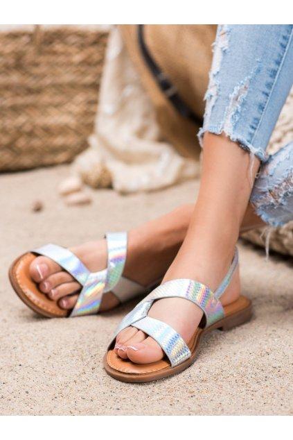 Sivé sandále Renda kod 222-31S