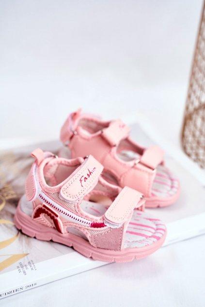 Detské sandále farba ružová kód obuvi A1486 PINK