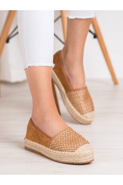 Hnedé topánky Shelovet kod JEY-9C