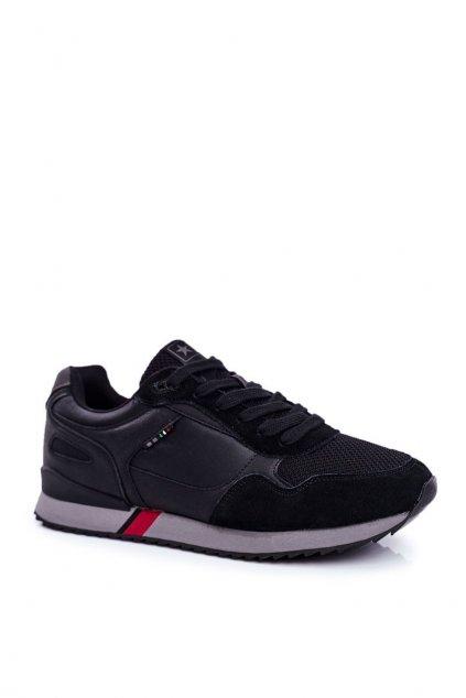 Čierna obuv kód topánok 20MN20-2151 BLK