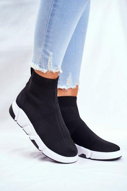 Čierna obuv kód topánok FC807 BLK