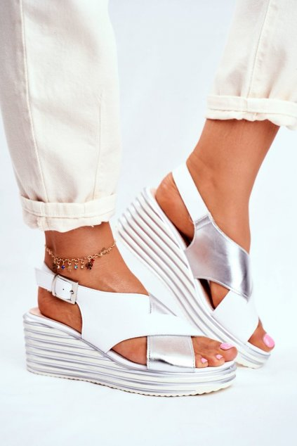 Biela obuv kód topánok SK328 WHITE MIX