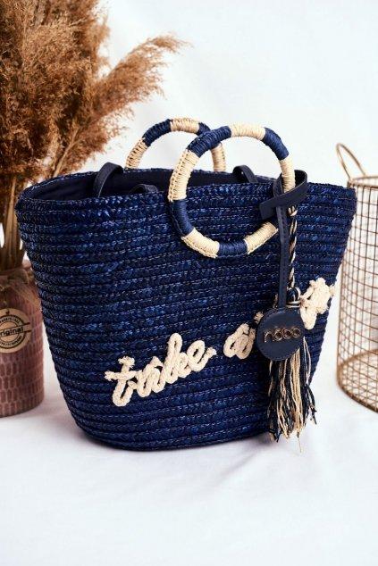 Dámska kabelka modrá kód kabelky NOBO-NBAG-XI0400-C013