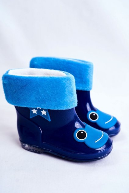 Modrá obuv kód topánok X1191 NAVY