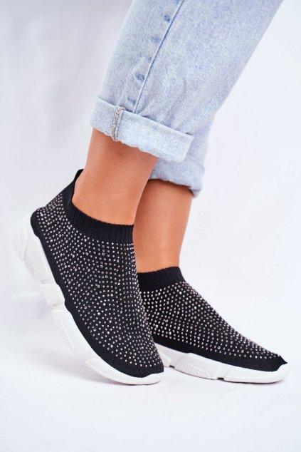 Dámske tenisky farba čierna kód obuvi NB266 BLK